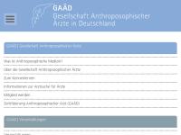 Gesellschaft Anthroposophischer Ärzte in Deutschland e. V.