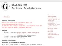 Galerie der Berliner Graphikpresse