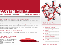 GanterMobil Conference Bikes