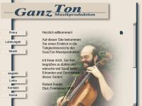 GanzTon Musikproduktion