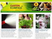 Garten Kompass