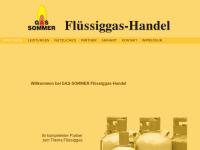 Kurt Sommer, Flüssiggas-Handel