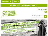 Grüne Bildungswerkstatt - Politische Bildung in Österreich