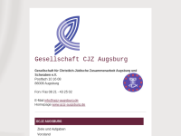 Augsburg - Gesellschaft für christlich jüdische Zusammenarbeit