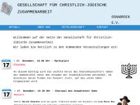 Osnabrück - Gesellschaft für christlich-jüdische Zusammenarbeit