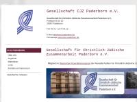 Paderborn - Gesellschaft für christlich-jüdische Zusammenarbeit
