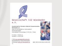 Wiesbaden - Gesellschaft für Christlich-Jüdische Zusammenarbeit