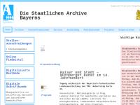 Staatliche Archive in Bayern
