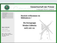 Gewerkschaft der Polizei (GdP), Kreisgruppe Minden-Lübbecke