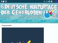 Deutsche Kulturtage der Gehörlosen