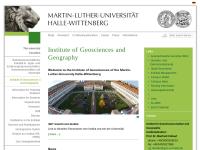 Institut für Geowissenschaften der Martin-Luther-Universität Halle