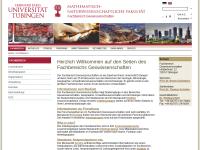 Fachbereich Geowissenschaften der Universität Tübingen