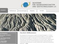 Akademie für Geowissenschaften und Geotechnologien e.V.
