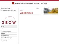 Geologisch-Paläontologisches Institut der Ruprecht-Karls-Universität Heidelberg