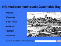 Informationsknotenpunkt Geschichte Bayerns