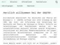 Deutsche Gesellschaft für Geschichte und Theorie der Biologie