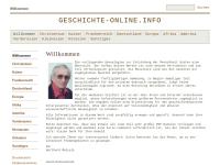 Welt- und Kirchengeschichte auf geschichte-online.info