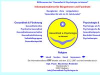 Gesundheit und Psychologie im Internet