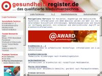 Gesundheitsregister.de