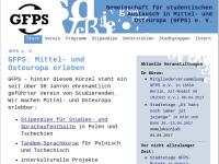 Gemeinschaft für studentischen Austausch in Mittel- und Osteuropa (GFPS) e. V.