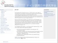 Gesellschaft für Japanforschung (GJF)