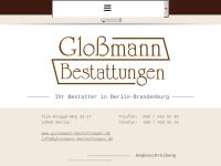 Gloßmann Bestattungen