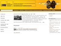 Lehrstuhl für Geschichte der Naturwissenschaften der Universität München
