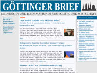 Göttinger Brief