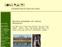 Going Places - Reiseberichte aus Asien [Ursula Schlößer]