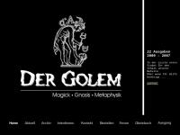 Der Golem - Magick, Gnosis, Metaphysik