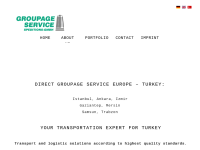 """""""Groupage""""-Service Speditions-GmbH"""