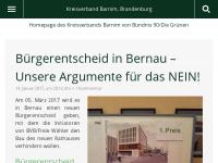 Bündnis 90/Die Grünen Kreisverband Barnim