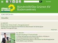 Bündnis 90/Die Grünen Ortsverband Friedrichshafen