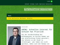 Bündnis 90/Die Grünen Ratsfraktion Oberhausen