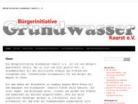 Bürgerinitiative Grundwasser Kaarst e.V.