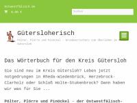 Pölter, Plörre und Pinöckel - Gütersloher Sprachführer