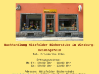 Buchhandlung Hätzfelder Bücherstube