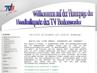TV Bodenwerder - Handball