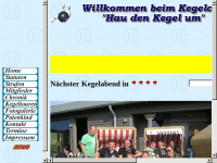"Kegelclub ""Hau den Kegel um"""