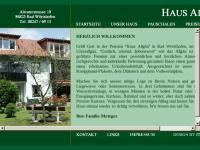 Haus Allgäu, Pension und Ferienwohnungen.