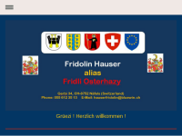 Vereine und Publikationen von Fridolin Hauser