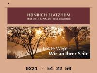 Bestattungen Heinrich Blatzheim