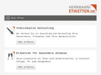 Herrmann Etiketten