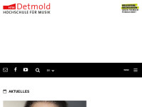 Hochschule für Musik Detmold