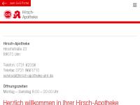 Hirsch-Apotheke, G+S Apotheken OHG