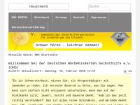 Deutsche Hörbehinderten Selbsthilfe e.V.