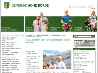 Gemeinde Hohe Börde