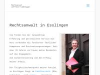Rechtsanwalt Leif Peter Holderegger, Esslingen