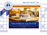 Holländische Kakao-Stube Konditorei und Cafe Friedrich Bartels KG