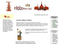 Erzgebirgische Miniaturen aus Seiffen